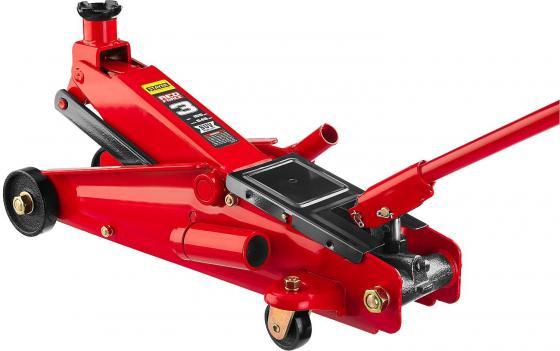 Домкрат STAYER 43157-3 гидравлический подкатной red force для внедорожников 3т 155-545мм домкрат гидравлический зубр x80 подкатной 3т [43050 3 z01]