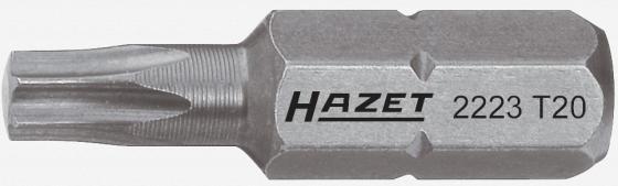 Насадка (бита) HAZET TORX T25 2223-T25 шестигранный привод 8 (5/16) цена и фото
