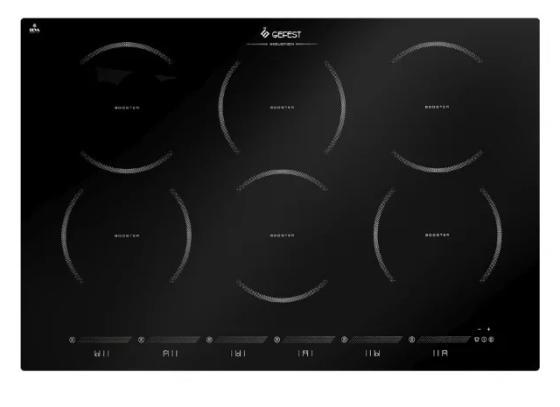 Индукционная варочная поверхность Gefest ПВИ 4323 черный цена и фото