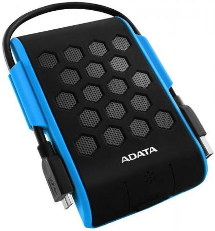 "Жесткий диск A-Data USB 3.0 1Tb AHD720-1TU31-CBL HD720 DashDrive Durable (5400rpm) 2.5"" синий внешний жесткий диск a data hd720 1tb синий ahd720 1tu3 cbl"