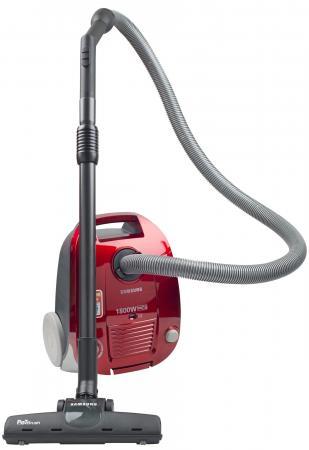 Пылесос Samsung SC-4181 сухая уборка красный