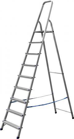 Лестница-стремянка СИБИН алюминиевая, 9 ступеней, 187 см [38801-9]