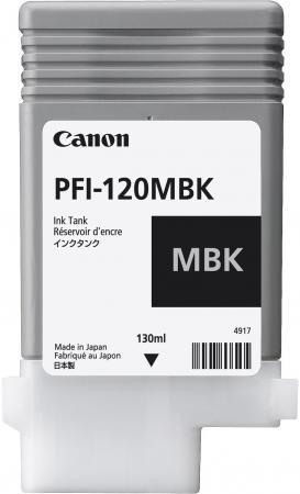 Картридж струйный Canon PFI-120 MBK 2884C001 черный матовый для Canon ТМ-серия meike fc 100 for nikon canon fc 100 macro ring flash light nikon d7100 d7000 d5200 d5100 d5000 d3200 d310