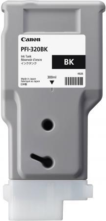 Картридж струйный Canon PFI-320 BK 2890C001 черный для Canon ТМ-серия картридж струйный canon pfi 120 bk 2885c001 черный для canon тм серия