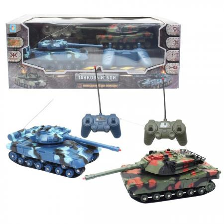 Взвод Танковый бой 1toy Взвод - Танковый бой камуфляж от 6 лет пластик, металл цена