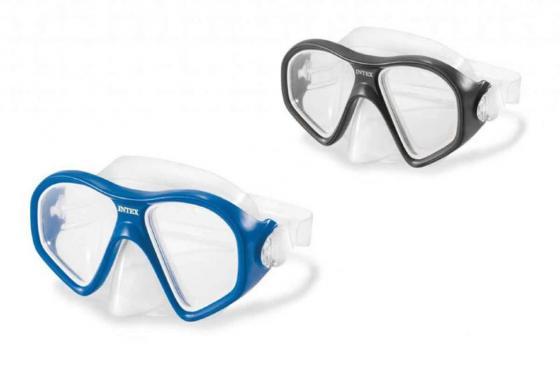 Спортивная игра Маска для плавания Intex Риф набор маска с трубкой и ластами intex 55959