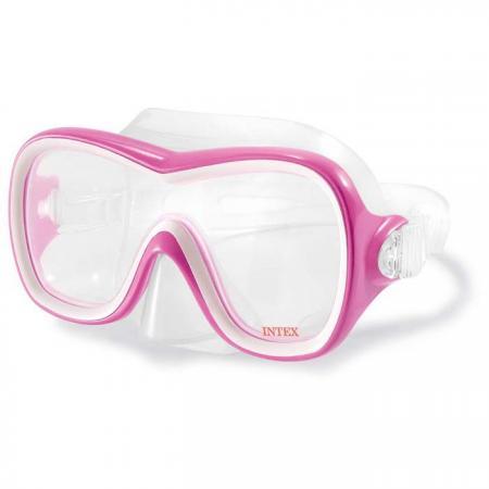 Спортивная игра Маска для плавания Intex Маска для серфинга набор маска с трубкой и ластами intex 55959
