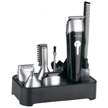 Машинка для стрижки волос VC-1476 серебро