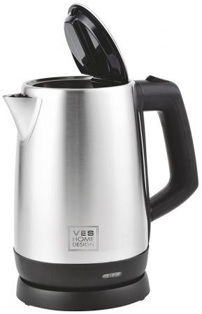 лучшая цена Чайник VES H-104 2200 Вт серебристый 1.7 л нержавеющая сталь