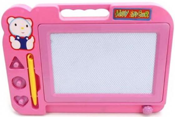 Доска для рисования Наша Игрушка Мишка розовый цена