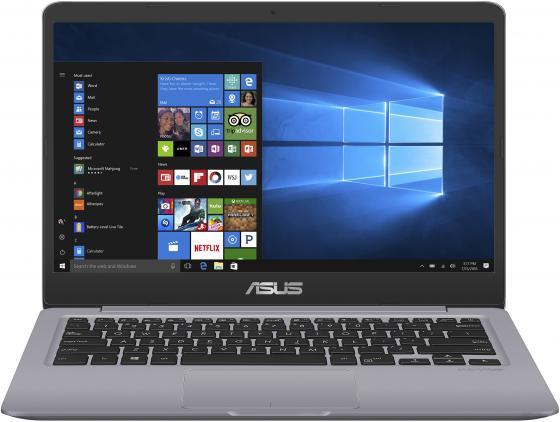 "Ноутбук ASUS VivoBook S14 S410UA-BV1157 14"" 1366x768 Intel Core i5-8250U 500 Gb 4Gb UHD Graphics 620 серый Linux 90NB0GF2-M18460"