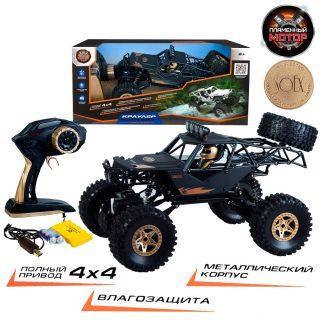 Купить Краулер-Багги Пламенный мотор Краулер-Багги черный от 8 лет металл, Радиоуправляемые игрушки