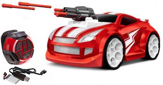 Машинка на радиоуправлении Пламенный мотор Сталкер Молния красный машинка пламенный мотор трейлер гоночный трек 87535