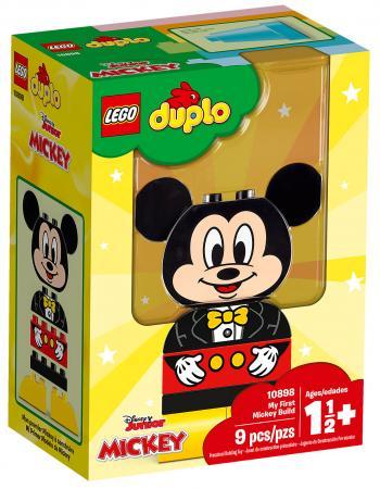 Конструктор LEGO Duplo: Disney Мой первый Микки 9 элементов 10898