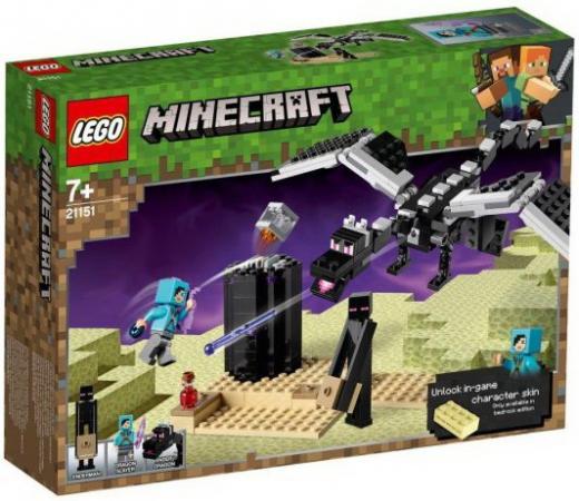 Конструктор LEGO Последняя битва конструктор lego minecraft последняя битва 222 дет 21151