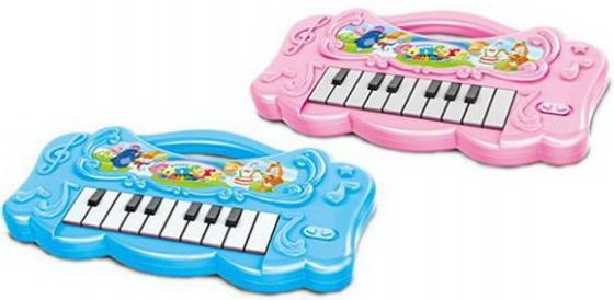 Купить Пианино детское 16 клавиш, свет, звук, в ассорт., бат.в компл.не вх., кор., Наша Игрушка, Детские музыкальные инструменты