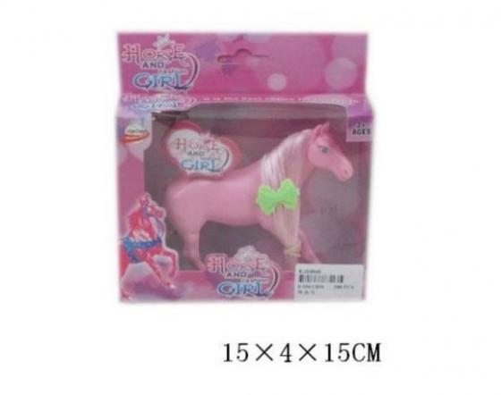 Лошадь для кукол Наша Игрушка Лошадка с пышной гривой