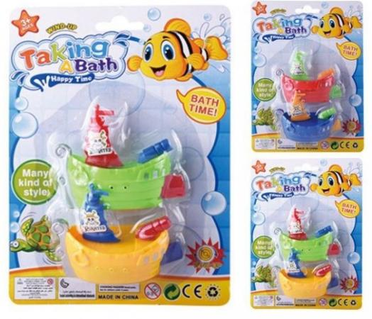 Заводная игрушка Наша Игрушка Кораблики заводные заводная игрушка наша игрушка петушок