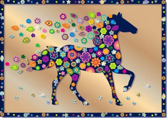 Набор для изготовления картин Клеvер Конь от 8 лет набор для изготовления картин клевер фея колокольчика от 8 лет аб 41 103