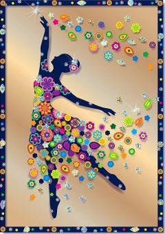 Набор для изготовления картин Клеvер Балерина от 8 лет набор для изготовления картин клевер фея колокольчика от 8 лет аб 41 103