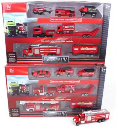 Игровой набор Наша Игрушка Пожарная служба 7 предметов