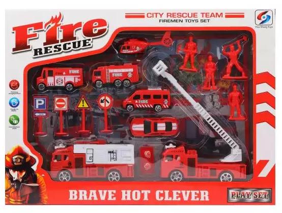 Игровой набор Наша Игрушка Пожарная охрана 16 предметов игровой набор наша игрушка набор медсестры 13 предметов