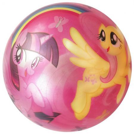 Мяч ИГРАЕМ ВМЕСТЕ Hasbro. Мой маленький пони ПВХ разноцветный