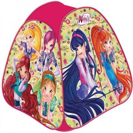 цена на Палатка детская игровая Winx 81х90х81см, в сумке, Играем вместе в кор.24шт