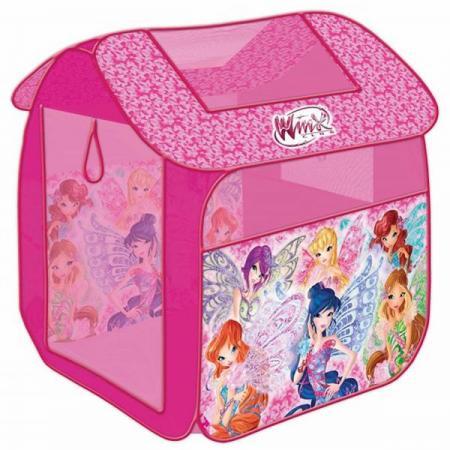цена на Палатка детская игровая Winx 83х80х105см, в сумке, Играем вместе в кор.24шт