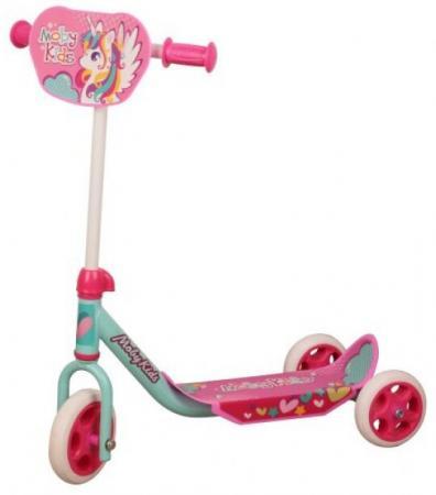 Самокат трехколёсный Moby Kids Мечта 150/120 мм розовый цены онлайн