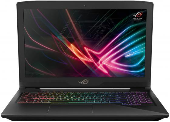 Ноутбук Asus GL503GE-EN296 i5-8300H (2.3)/16G/1T+256G SSD/15.6 FHD AG 120Hz/NV GTX1050Ti 4G/noODD/noOS Black ноутбук asus gl503ge en272 i5 8300h 2 3 8g 1t 256g ssd 15 6fhd ag 120hz nv gtx1050ti 4g noodd bt noos gunmetal aluminum
