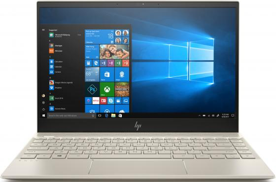 "купить Ноутбук HP Envy 13-ah1006ur 13.3"" 1920x1080 Intel Core i5-8265U 256 Gb 8Gb Bluetooth 5.0 nVidia GeForce MX150 2048 Мб золотистый Windows 10 Home 5CT23EA по цене 64590 рублей"