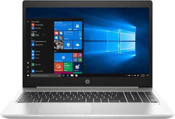 """Ноутбук HP ProBook 450 G6 15.6"""" 1920x1080 Intel Core i7-8565U 256 Gb 8Gb nVidia GeForce MX130 2048 Мб серебристый Windows 10 Professional 5PP90EA цена и фото"""