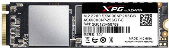 Фото - Твердотельный накопитель SSD M.2 256 Gb A-Data ASX6000LNP-256GT-C Read 1800Mb/s Write 900Mb/s 3D NAND TLC твердотельный накопитель ssd m 2 256 gb a data ultimate su800 read 560mb s write 520mb s 3d nand tlc asu800ns38 256gt c