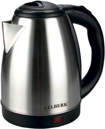 Чайник электрический Gelberk GL-333 1500 Вт серебристый 1.8 л нержавеющая сталь все цены