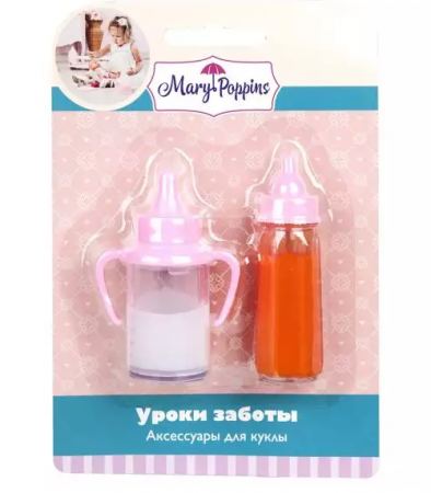 Набор аксессуаров для кукол Mary Poppins Уроки заботы набор аксессуаров для кукол mary poppins уроки заботы