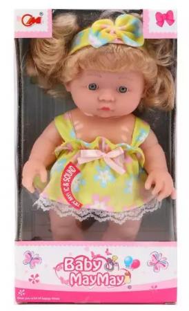 все цены на Кукла Наша Игрушка Моя радость 24 см со звуком онлайн