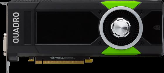 Видеокарта PNY Quadro P5000 VCQP5000BLK-1 PCI-E 16384Mb GDDR5 256 Bit Bulk