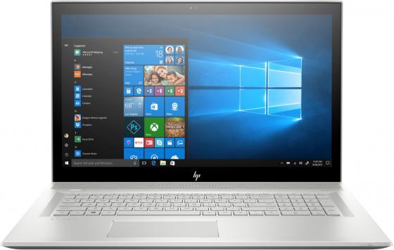 "Ноутбук HP Envy 17-bw0000ur <4GS19EA> i5-8250U(1.6)/12Gb/1TB+256Gb SSD/17.3"" FHD IPS AG/NV MX150 2GB/DVD-RW/Cam HD/Win10 (Natural silver) цена и фото"