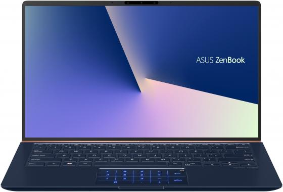 Ноутбук ASUS Zenbook UX433FA-A5093T 14 1920x1080 Intel Core i3-8145U 256 Gb 8Gb Bluetooth 5.0 Intel UHD Graphics 620 синий Windows 10 90NB0JR1-M01380 ноутбук