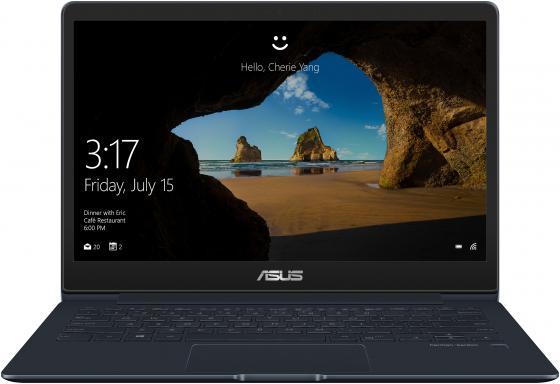 """Ноутбук ASUS Zenbook 13 UX331FAL-EG027R 13.3"""" 1920x1080 Intel Core i5-8265U 512 Gb 8Gb Intel UHD Graphics 620 черный синий Windows 10 Professional 90NB0KD3-M00760 цена в Москве и Питере"""