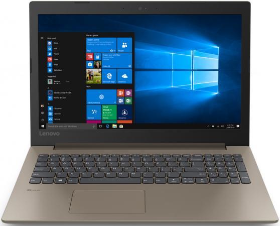 "Ноутбук Lenovo Ideapad 330 15ARR 15.6"" 1920x1080 AMD Ryzen 3-2200U 1 Tb 4Gb AMD Radeon 530 2048 Мб коричневый DOS 81D200L9RU цена и фото"