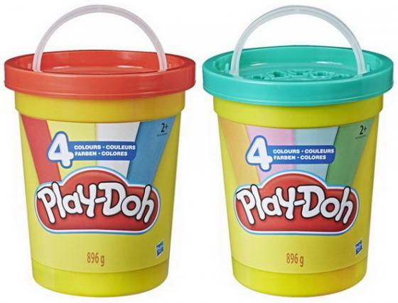 цена на Игровой Набор Hasbro Play-Doh мас.д.леп.Большая банка 4 цвета