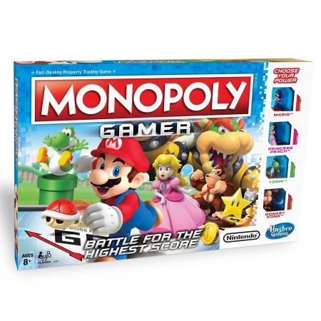 Настольная игра Монополия Геймер HASBRO Монополия геймер игра настольная hasbro монополия игра престолов e3278