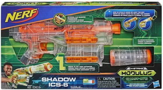 цена на Игрушка Hasbro Nerf бластер Модулус Шэдоу НЁРФ