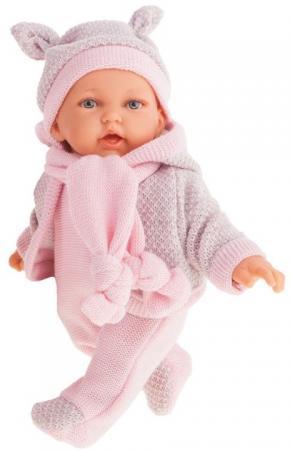 Кукла JUAN ANTONIO Ромина в розовом 27 см со звуком кукла лана брюнетка juan antonio 27 см 1112br