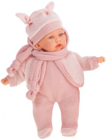 Кукла JUAN ANTONIO Ромина в светло-розовом 27 см со звуком кукла лана брюнетка juan antonio 27 см 1112br