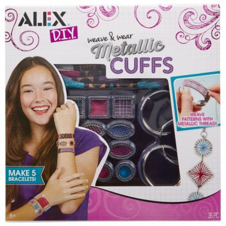 Набор для создания браслетов Alex Сделай сам Металлические браслеты цена