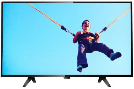"Телевизор LED Philips 43"" 43PFS5813/60 черный/FULL HD/60Hz/DVB-T/DVB-T2/DVB-C/DVB-S/DVB-S2/USB/WiFi/Smart TV (RUS) цена 2017"