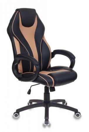лучшая цена Кресло руководителя Бюрократ T-702/BL+BG чёрный бежевый